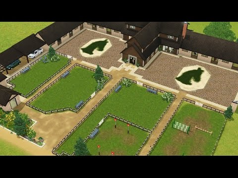 Let's speed build: Spirit Ranch | Sims 3 | 100 sub special!!