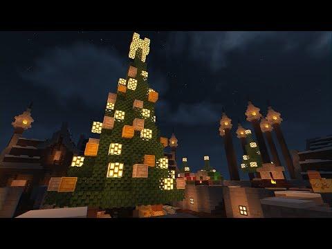A Winter Wonderland - Minecraft Timelapse
