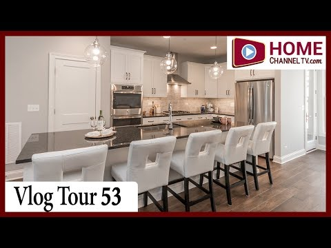 Vlog Tour 53 - Courthouse Square - Luxury Townhomes in Downtown Wheaton IL