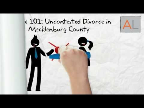 Uncontested Divorce in Mecklenburg County