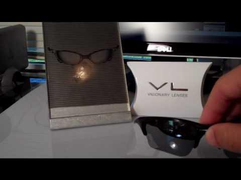 Polarized Silver Visionary Lenses for Oakley Half Jacket XLJ