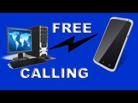 Make Free call From PC to Any Mobile Number without Registration