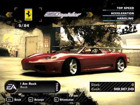 Need For Speed Most Wanted - 32 Cars To 94 Cars In a Click...
