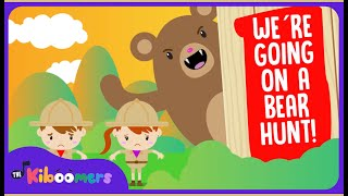 We're Going On A Bear Hunt , Popular Song For Preschoolers , The Kiboomers