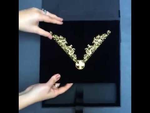 Luxury Black Velvet Boxed Wedding Invitation by Ceci New york