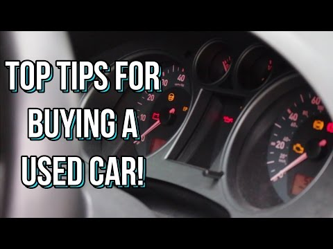 My Top Tips for Buying a Used Car!