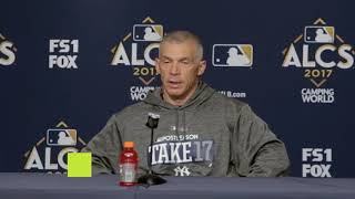 Yankees' momentum into game 5 of the ALCS
