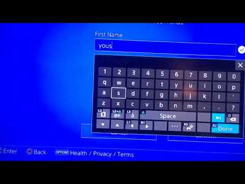 How to change your name on PS4