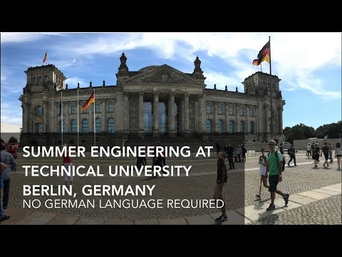 Study Mechanical Engineering in Germany!