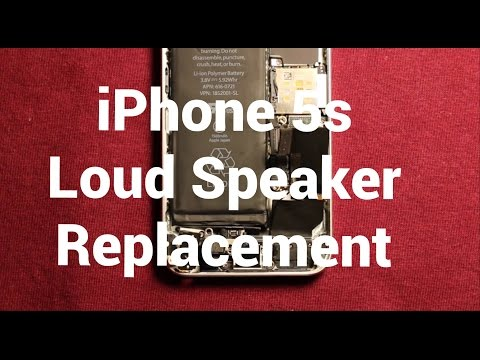IPhone 5s Loud Speaker Replacement How To Change