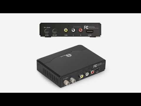 1byone ATSC Digital Converter Box for Analog TV