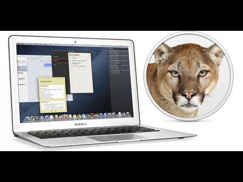 Mac OS X Mountain Lion: Best New Features
