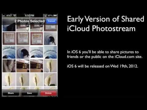 PhotoStream in iCloud