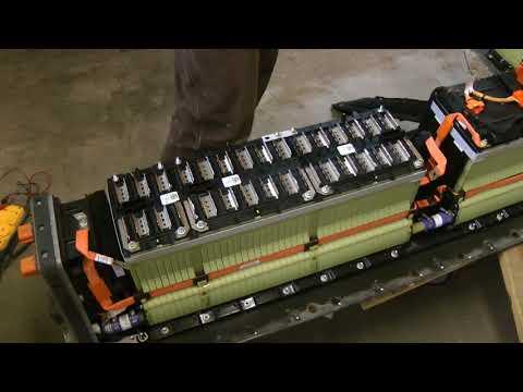 2013 Chevy Volt Battery BMS Pinout Diagram