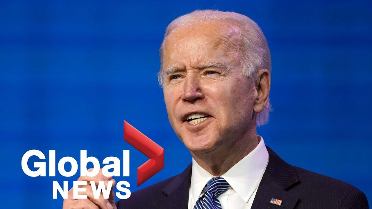 Joe Biden says Trump's impeachment up to Congress, names more cabinet members | FULL