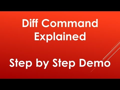 Using diff command in Unix   Linux ► Explained with examples
