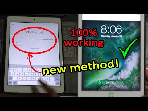 2018 NEW! Unlock/Bypass iCloud activation lock 100% Working! | iCloud activation lock