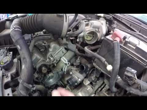 Mazda 6 Water Pump Removal & Replacement - 2007