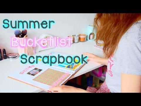 Summer Bucketlist Scrapbook    Imogen-Jane