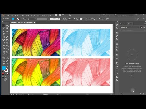 How to Change Image Colors | Illustrator Trick