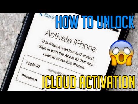 how to unlock or remove icloud activation 2017