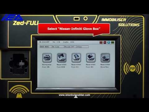 Pin Code calculation from Glove Box Label