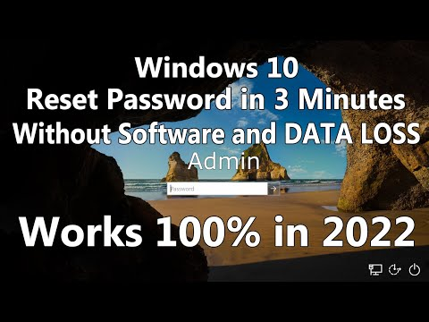 2019 Hack Windows 10 Admin Password with your bare hands Without software