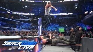 Dean Ambrose vs. Baron Corbin — Street Fight: SmackDown LIVE, April 4, 2017