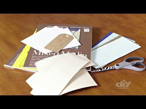 How to Dip Dye Wedding Invites - DIY Network