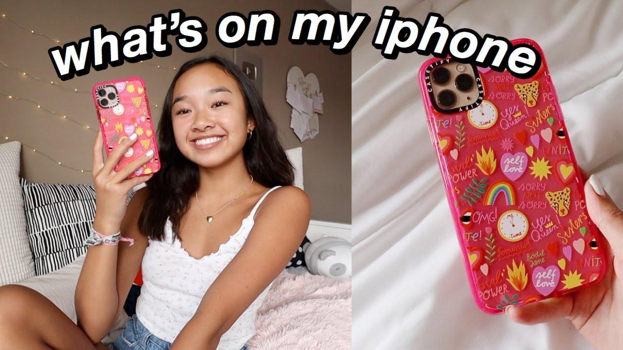 WHAT'S ON MY IPHONE 11 PRO MAX! Nicole Laeno