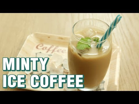 Cold Coffee Recipe - How To Make Minty Ice Coffee - Summer Drink - Neha Naik