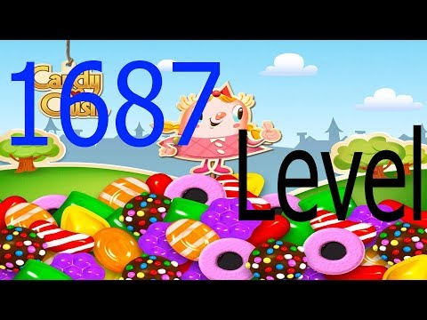 Candy Crush Saga 1687 No Level Wine || Best Games ReviewS 2018 || HD