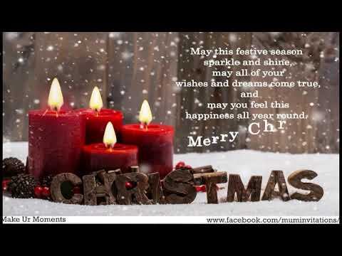 Merry Christmas 2017 Wishes, Greetings, Quotes and Whatsapp Cards