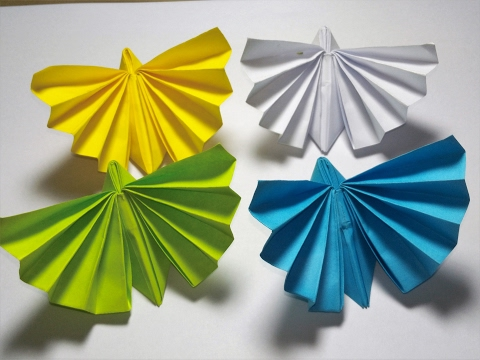 Origami Tutorials Easy_How to make Cambodian origami butterfly _Paper craft butterfly