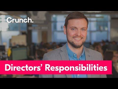 Directors' Responsibilities | Crunch help video
