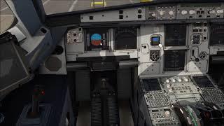 X-Plane] Flight Factor A320 | KABQ KSLC | Full Flight