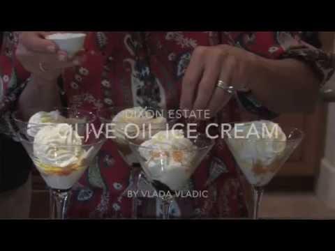 Most amazing Olive oil ICE CREAM by Cheri Dixon / Vlada Vladic
