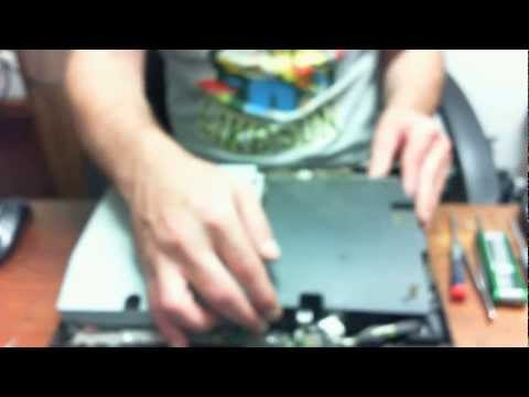 PS3 how to open and properly clean Model CECHH01