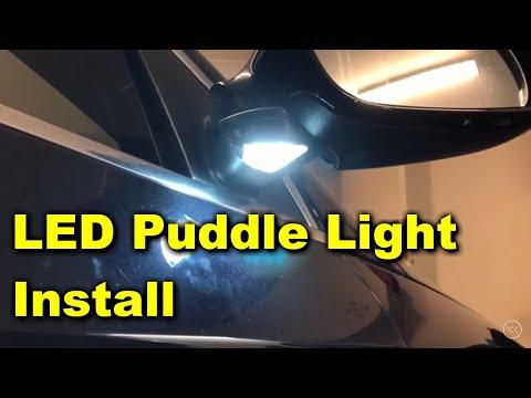 VW Passat LED Puddle Light Install