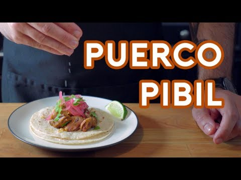 Binging with Babish: Puerco Pibil from Once Upon a Time in Mexico