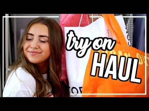 HUGE SUMMER TRY-ON HAUL! | Urban, Topshop, Fabletics + more