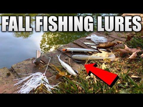 Top 5 Fall Bass Fishing Lures (2017)