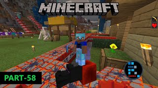 MINECRAFT | RON PLAYS MINECRAFT AFTER LONG TIME & DESTROYED THE SERVER WITH TNT