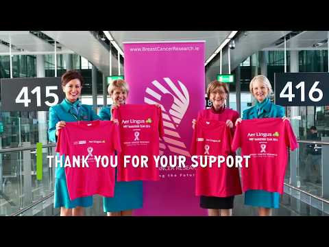 Aer Lingus | Breast Cancer Research Site Visit