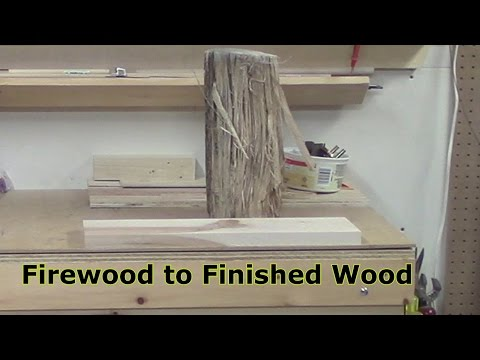 Firewood to Finished Wood