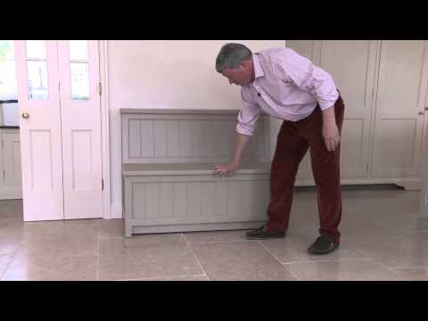 The Hall Seat Storage Bench from Bootboxes and Stuff