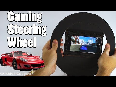 How to Make a Gaming Steering Wheel