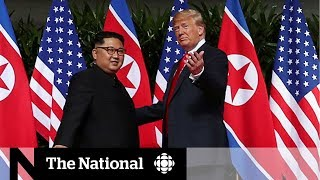 Singapore summit: Trump and Kim meet in historic moment