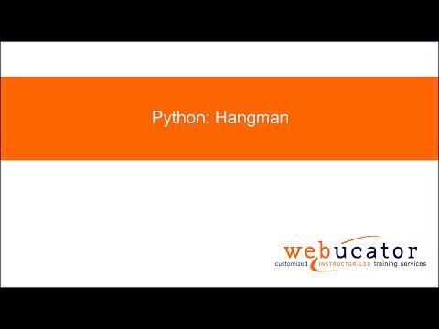 Python: Hangman