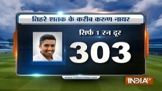India Vs England, 5th Test: Karun Nair Hits Triple Century (303 runs) in Chennai Test